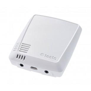 testo 160 THE - rádiový záznamník dat s integrovaným teplotním a vlhkostním senzorem a 2 konektory pro sondy