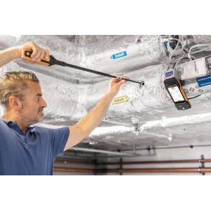 testo 400 sada pro měření proudění se sondou se žhaveným drátkem