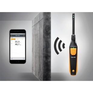 testo 605i termohygrometr ovládaný chytrým telefonem
