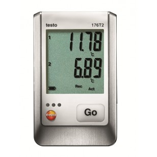 testo 176T2 2-kanálový datalogger teploty