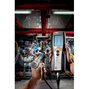 testo 340  analyzátor spalin pro průmysl