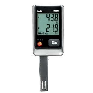 testo 175 H1 2-datalogger teploty a vlhkosti